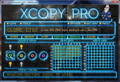X-Copy Professional 1.1.3 screenshot