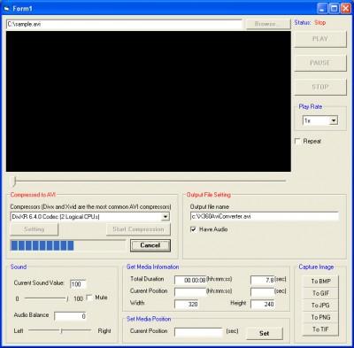 X360 Avi Convert ActiveX OCX 1.04 screenshot