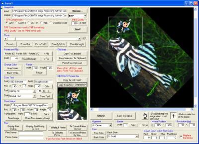 X360 Image Processing ActiveX OCX 5.50 screenshot
