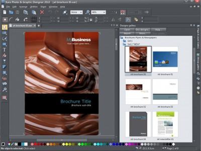Xara Photo and Graphic Designer 12.7.0 screenshot