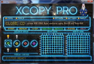 XCopy Professional 1.0.1 screenshot