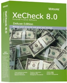 XeCheck Personal Finance (Deluxe) 8.150 screenshot