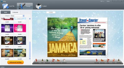 XFlip Digital Magazine Software 2.0.1 screenshot