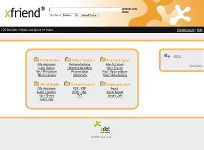 xfriend 2.9 screenshot