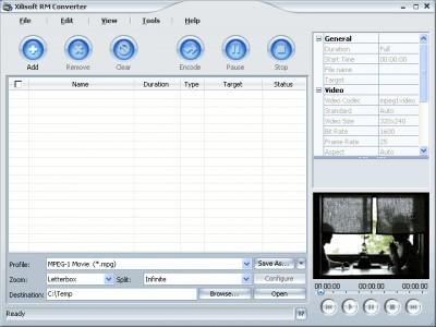 Xilisoft RM Converter 3.1.39.082 screenshot