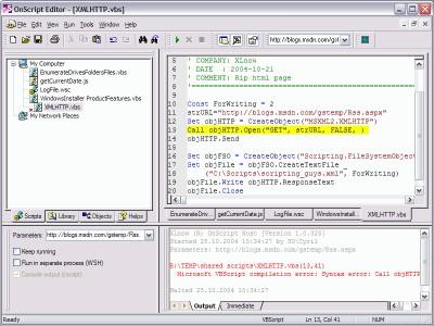 XLnow OnScript 2.1.568 screenshot