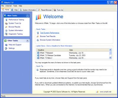 XMark 7.0 screenshot
