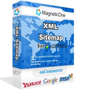 XML Sitemap for osCommerce - osCommerce module 2.0 screenshot