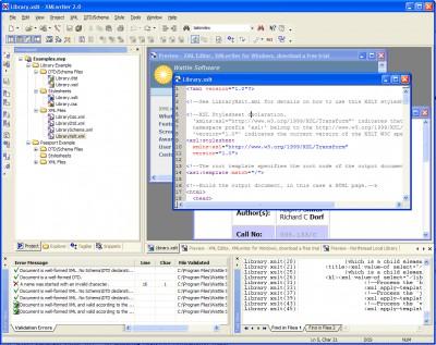 XMLwriter XML Editor 2.7 screenshot