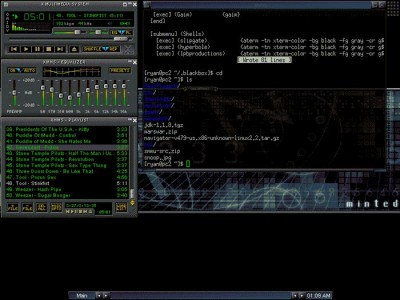 XMMS 1.2.10 screenshot