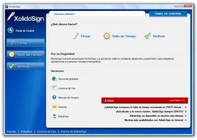 XolidoSign 2.2.x.x screenshot
