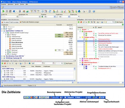 Xpert-Timer 6.0 screenshot