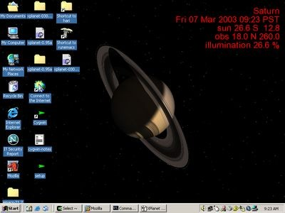 Xplanet 1.2.0 screenshot