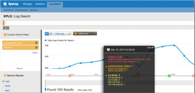 XpoLog Center 5.0 screenshot