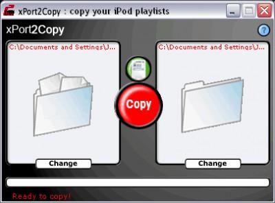xPort2Copy 2.2.2 screenshot