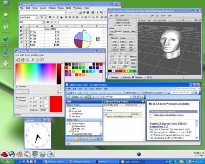 XSecurePro Secure X-Server for Windows 8.5 screenshot
