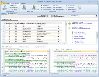 xSQL Schema Compare for SQL Server 4.0.0.0 screenshot
