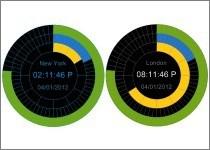 XUS Clock Plus Edition 1.5 screenshot