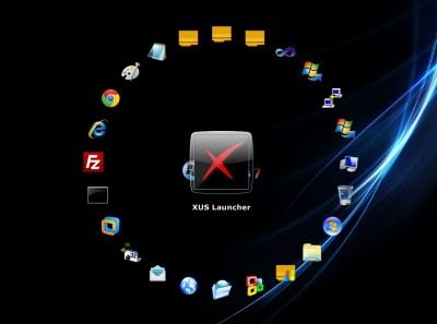 XUS Launcher Professional Edition 2.5 screenshot