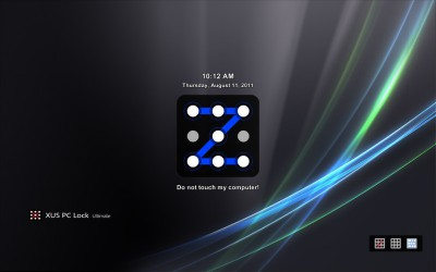XUS PC Lock Professional Edition 4.3 screenshot