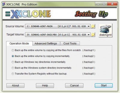 XXCLONE 2.08.8 screenshot