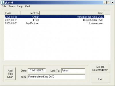 yLend 1.0.8 screenshot