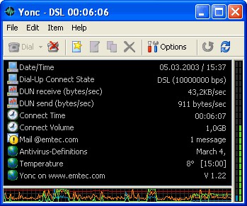 Yonc 1.28 screenshot