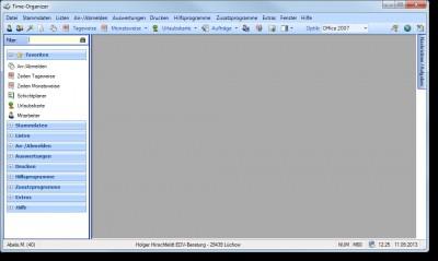 Zeiterfassung Time-Organizer 16.0 screenshot