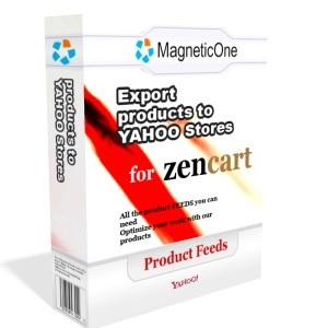 Zen Cart Yahoo Stores Data Feed 3.0 screenshot