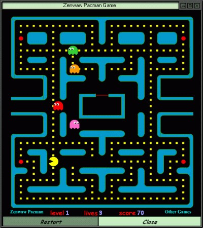 Zenwaw Pacman 1.00 screenshot