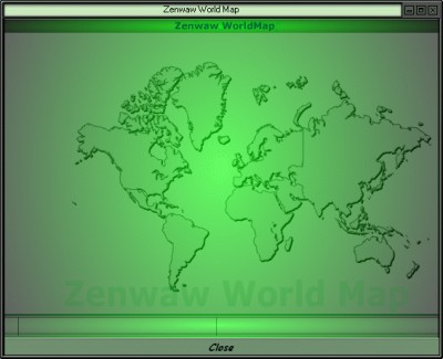 Zenwaw World Map 1.00 screenshot