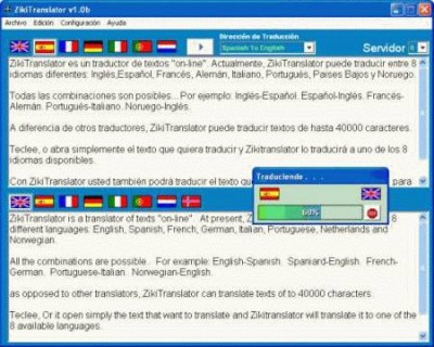 ZikiTranslator 1.5.0a screenshot