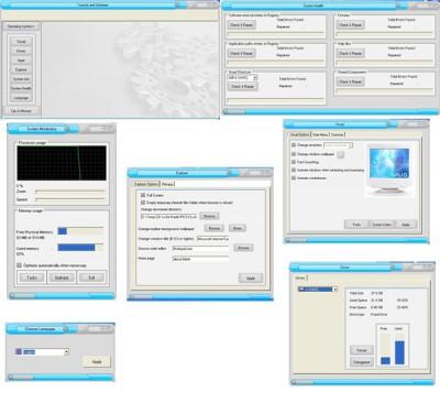 Zilla Free TuneUp and Optimizer 3.2.0.2 screenshot
