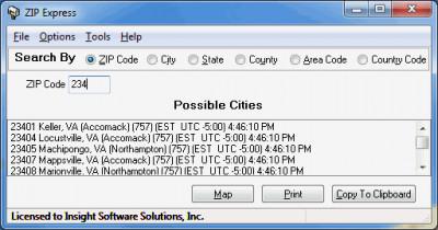 ZIP Express 2.9.0.1 screenshot