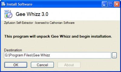 Zipfusion 6.2.02 screenshot