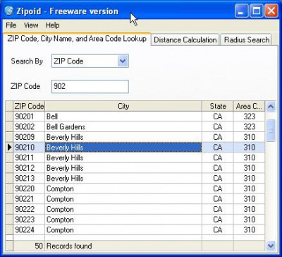 Zipoid 1.2 screenshot