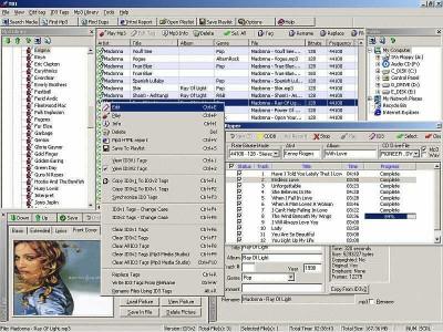 Zortam ID3 Tag Editor 5.50 screenshot