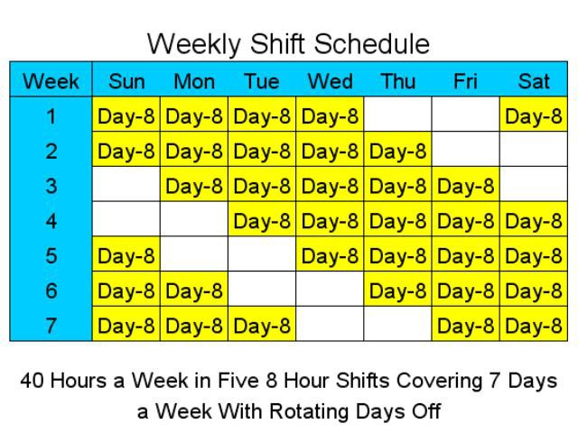 12+Hour+Shift+Schedules 12 Hour Shift Schedule Chart