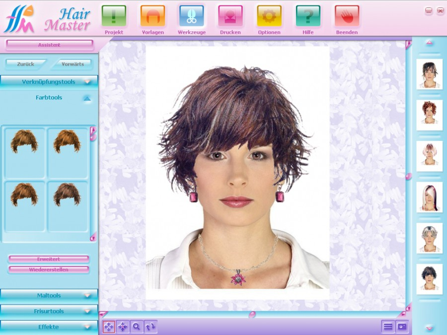 Hair Master 3.0 keywords hair master virtual styling virtual hairstyle