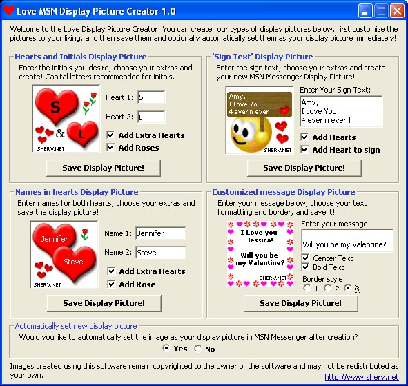 Love Msn Display Pictures 21
