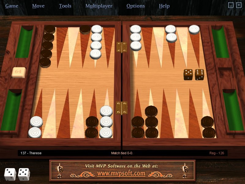 MVP Backgammon Professional 2.0.4 review and download