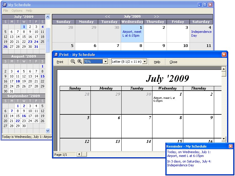 appointment scheduling freeware