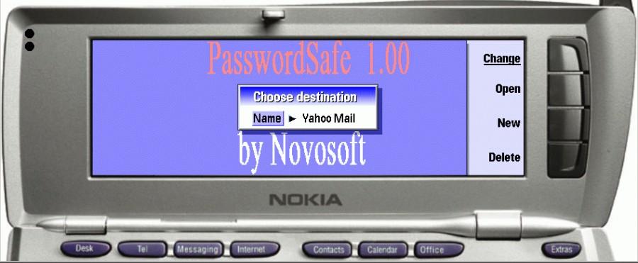 ايقونة برنامج PasswordSafe