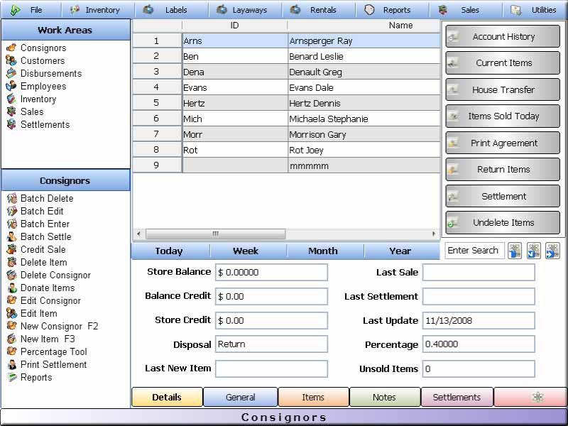 Pawnbroker Pawn Shop Software