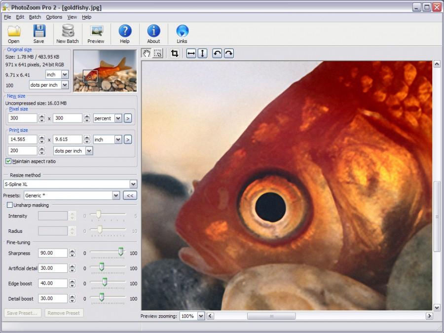 برنامج PhotoZoom Professional 3.0.4 برنامج