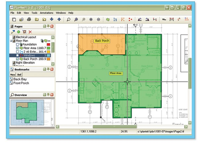 Planswift on screen digitizer takeoff 8 0 review and for Plot plan drawing software