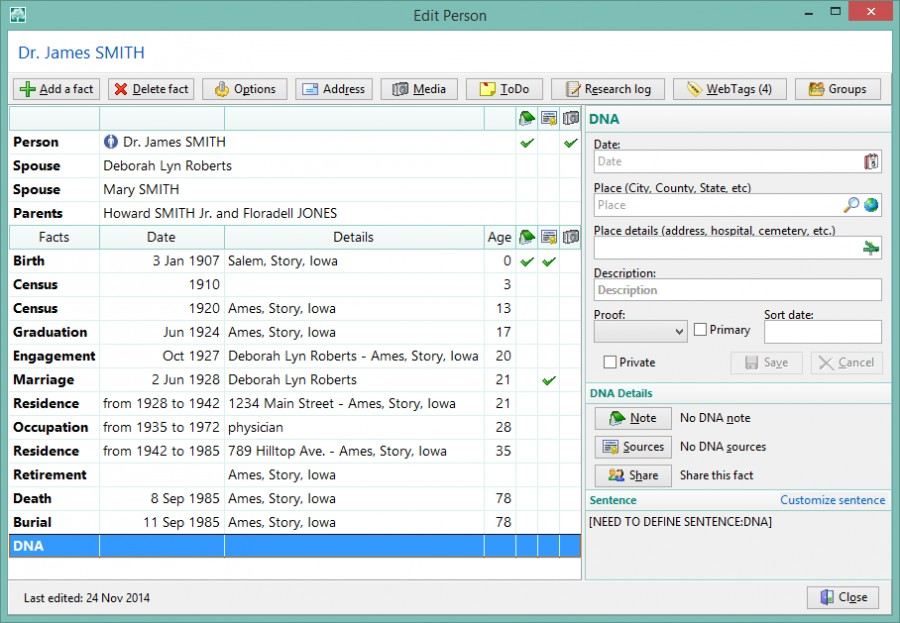 how to create a gedcom file from familysearch