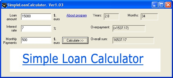 download program for calculating compound interest free