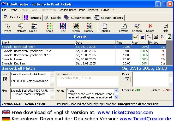 ticket software kostenlos