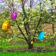 3D Floating Easter Eggs